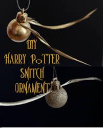 harry potter golden snitch ornament allfreechristmascrafts