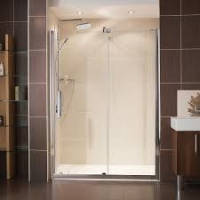 Shower Tray And Door by Frameless Sliding Shower Doors Installing New Frameless