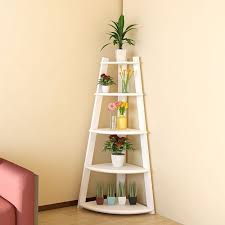 Corner Ladder Bookcase Best Ideas Of Furinno Fnaj Ex 5 Tier Corner Ladder Garden Shelf