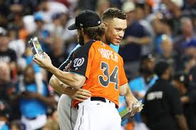 Aaron Judge Made His Mlb Debut In Center Field - baseball s customs keep aaron judge and bryce harper from being