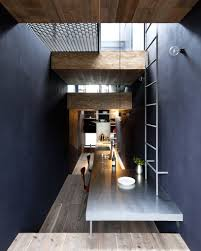 Modern Narrow House by Creativetopography Living Narrow 1 8m House In Tokyo Japan By