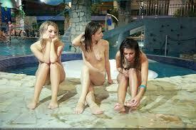purenudism nudist pool''|Families naturists in pool - Pure nudism video HD [Kids Indoor Dolphin Ride]