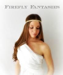 goddess headband golden goddess white and gold glitter stretch headband for
