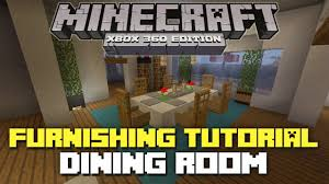 minecraft interior design kitchen minecraft xbox 360 furniture tutorial and ideas dining room