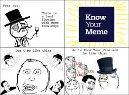 Rage Comics Know Your Meme - the anatomy of a meme issues in writing technology blog