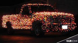 Christmas Reindeer Car Decorations by 18 Most Creative Christmas Decorated Cars Carsomesg Com