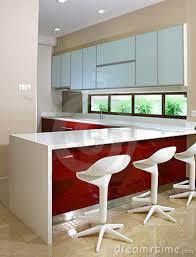 simple kitchen bar counter interior design