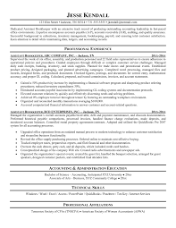 Accounts Payable Job Description Resume by Sample Resume For Bookkeeper Accountant Free Resume Example And