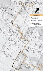 Edison Mall Map Rtd Route 80