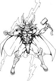 thor coloring pages coloring pages kids