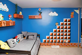 super mario bros themed room 90kids com childhood nostalgia