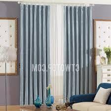 Grey And Blue Curtains Enchanting Blue Grey Curtains And Grey Blue Curtains Promotion