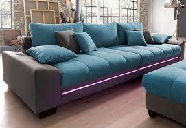 sofa mit beleuchtung big sofa mit beleuchtung wahlweise mit bluetooth soundsystem