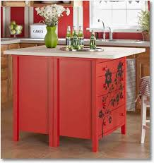 how to make your own kitchen island with cabinets make your own kitchen island the inspired room