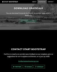 40 slick free html bootstrap templates 2017