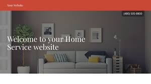 home service website templates godaddy
