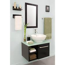 sheffield home palma 27 5 in vanity in dark wenge with vitreous
