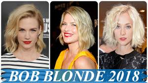 Aktuelle Kurzhaarfrisuren Blond by Aktuelle Bob Frisuren 2018