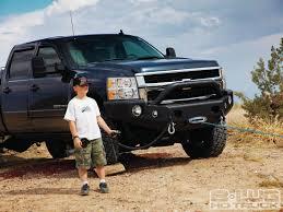 nissan frontier winch bumper winch of prey superwinch talon performance series work truck