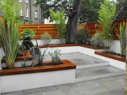 best 25 courtyard design ideas on concrete bench the 25 best concrete block retaining wall ideas on