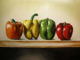 how to paint peppers that are good enough to eat