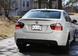 bmw 335i 2006 mtech style rear bumper for 2006 11 bmw 328i 335i sedan e90