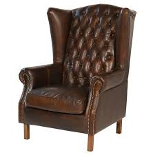 Wing Back Chair Design Ideas Leather Wing Back Chair Ebay In Wingback Chairs Design 10