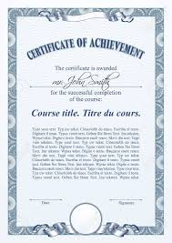 blue certificate template vertical royalty free cliparts