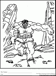 terrific ultimate avengers coloring pages with hulk coloring page