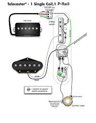 seymour duncan p rail wiring question telecaster guitar forum