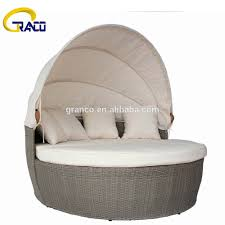 Outdoor Wicker Patio Furniture Round Canopy Bed Daybed - outdoor daybed canopy outdoor daybed canopy suppliers and
