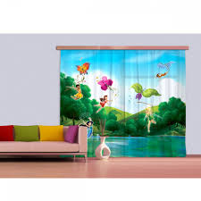 disney fairies spring valley mural curtains blackout 280cm x 245cm disney fairies spring valley mural curtains blackout 280cm x 245cm