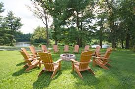 Firepit Chairs Pits And Adirondack Chairs Are Located Throughout The Grounds