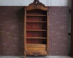 old bookcases for sale vintage furniture etsy