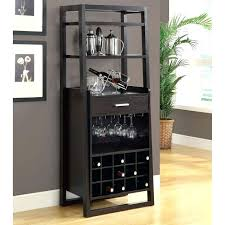 Furniture Wine Bar Cabinet Popular Of Furniture Wine Bar Cabinet Rack Sosfund Regarding With