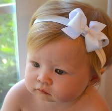 baby girl headbands and bows white baby bow headband christmas baptism wedding baby