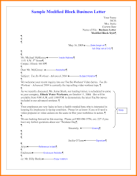 Business Letter Proposal by Example Of Block Business Letter Mediafoxstudio Com