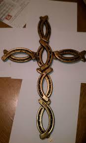 20 best crosses to make images on pinterest horseshoe art