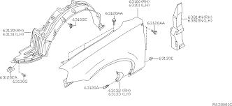 nissan altima front bumper replacement 2006 nissan altima sedan oem parts nissan usa estore