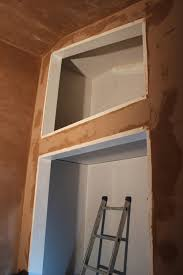 Bedroom Wall Wet Skimming With Wet Plaster Self Build Blog