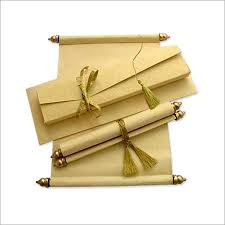 indian wedding scroll invitations indian wedding scroll in m i road jaipur exporter and manufacturer