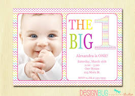 Birthday Invitation Cards For Kids First Birthday Baby 1st Birthday Invitations Reduxsquad Com