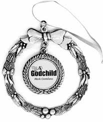 goddaughter christmas ornaments the godchild pewter ornament on sale 14 95 guido gear