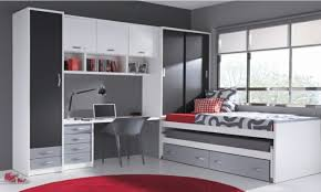 chambre ado et gris chambre enfant chambre ado gris blanc décoration chambre ado