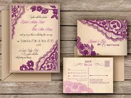 wedding invitations etsy lace wedding invitations etsy casadebormela