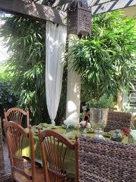 Sunbrella Patio Curtains Sunbrella Outdoor Curtains Patio Tropical With Buddha Belly Bamboo