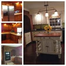 Painted Kitchen Cabinets Before After Storywood Designs Ascp Chalk Paint Kitchen Cabinets Before And