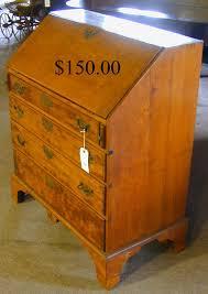 Drop Lid Secretary Desk by Hap Moore Antiques Auctions June 27 2009