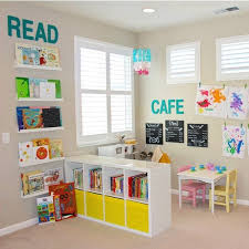Paint Ideas For Kids Rooms by Best 20 Kids Play Corner Ideas On Pinterest Toddler Playroom