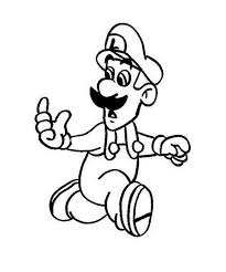 mario characters pictures kids coloring